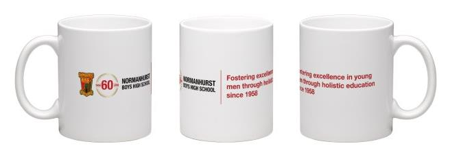 Commemorative coffee mug